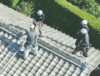 屋根の種類に応じて細かくチェック
