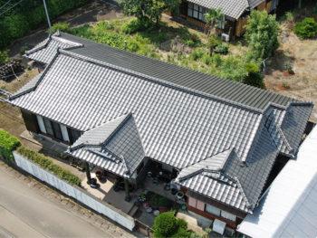 南九州市頴娃町 U様邸 葺き替え・塗装リフォーム事例