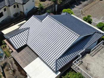 指宿市 H様邸 葺き替え・板金工事事例