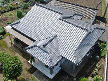 指宿市西方 S様邸 葺き替え工事事例