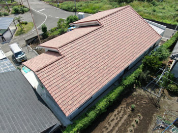 指宿市東方 Y様邸 新築屋根工事事例