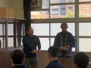 鹿児島工業高校で瓦葺き体験講座を行なってきました