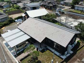 指宿市西方 K様邸 新築屋根工事事例
