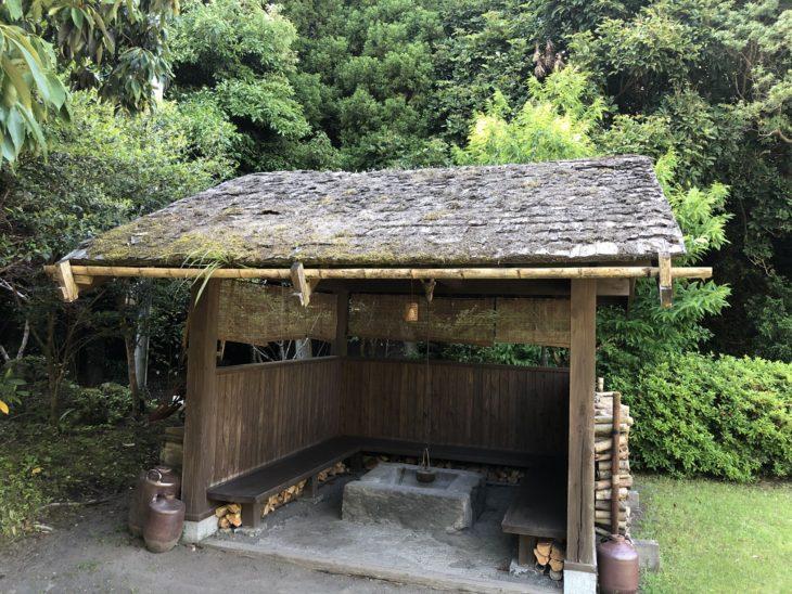 家族温泉 野の香 東屋 葺替工事事例