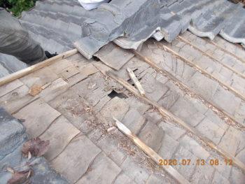 指宿市西方 K様邸 雨漏り補修工事事例
