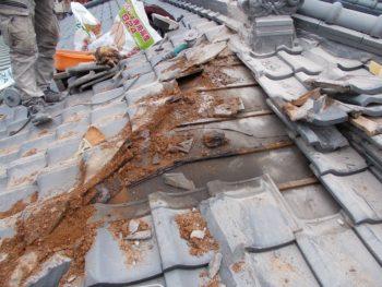 指宿市中小路 S様邸 雨漏り修理事例